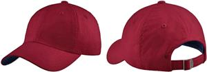 Port Authority Canvas Cap Contrast Underbill