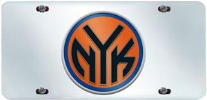 Fan Mats New York Knicks License Plate Inlaid