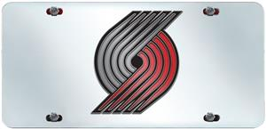 Portland Trail Blazers License Plate Inlaid