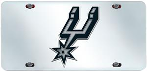 Fan Mats San Antonio Spurs License Plate Inlaid