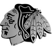 Fan Mats Chicago Blackhawks Chrome Vehicle Emblem