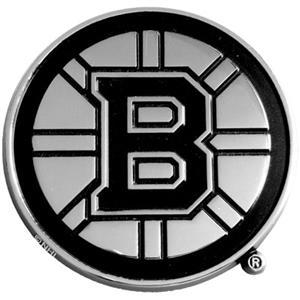 Fan Mats Boston Bruins Chrome Vehicle Emblem