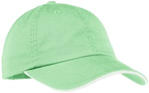 Ladies Sandwich Bill Cap W/Striped Closure