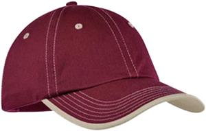 Port Authority Vintage Washed Contrast Stitch Cap