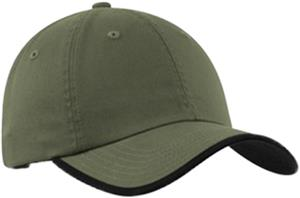 Port Authority Twill Cap Contrast Visor Trim