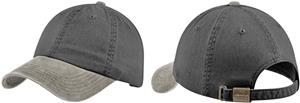 Port Authority Two-Tone Garment-Washed Cap