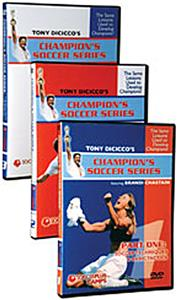 Champion's Soccer Series Soccer Training Videos