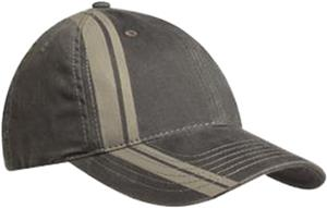 Port Authority Adult Double Stripe Cap