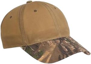 Pro Camouflage Series Cotton Waxed Cap Camo Brim