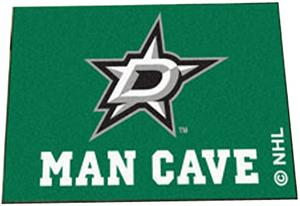 Fan Mats Dallas Stars Man Cave Starter Mat