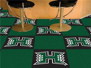 Fan Mats University of Hawaii Team Carpet Tiles