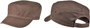 District Distressed Military Hat