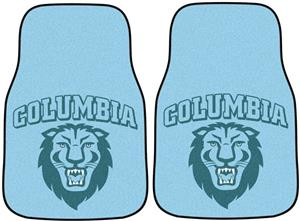 Fan Mats Columbia University Carpet Car Mats