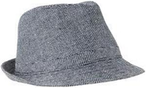 District Herringbone Fedora Hat