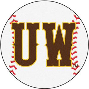 Fan Mats University of Wyoming Baseball Mat