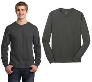 Port & Company Long Sleeve 100% Cotton T-Shirt