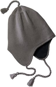 District Knit Hat with Ear Flaps