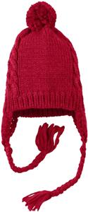 District Cabled Wool Beanie with Pom