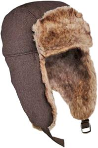 District Faux Fur-lined Trapper Hat