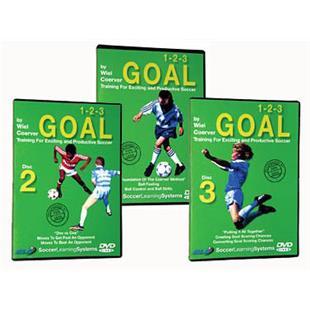 1-2-3 Goal DVDs Soccer Training Videos