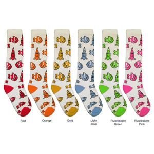 Red Lion Clown Fish Athletic Socks