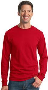 JERZEES Heavywt. 50/50 Cotton/Poly LS T-Shirt