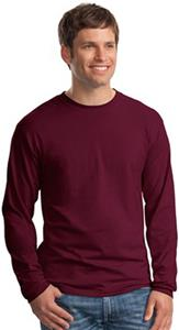 Hanes Beefy-T 100% Cotton Long Sleeve T-Shirt