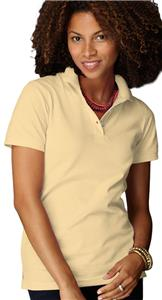 Anvil Women's Ring Spun Pique Knit Polos