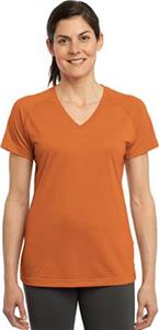 Sport-Tek Ladies Ultimate Performance V-Neck Shirt