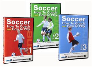 How to Coach &amp; Play Soccer Training Videos DVDs