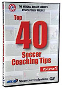 NSCAA Top 40 Soccer Coaching Tips Training DVD