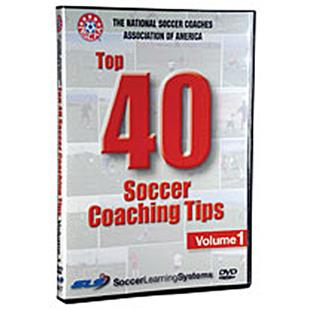 NSCAA Top 40 Soccer Coaching Tips Training DVD