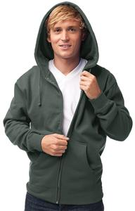 Independent Trading Men's Zip Hooded Sweatshirts