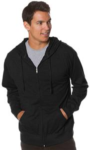 Independent Trading Men's Jersey Zip Hoodies
