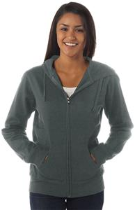 Independent Trading Junior Light Weight Zip Hoodie