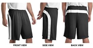 Sport-Tek Dry Zone Colorblock Shorts