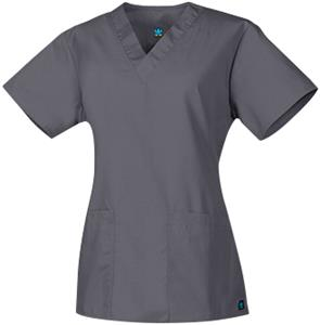 Maevn Core Women's Two Pocket V-Neck Scrub Tops