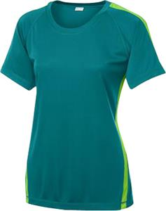 Sport-Tek Ladies' Colorblock Competitor Tee