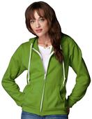Anvil Women's Ring Spun Fashion Full Zip Hoodies