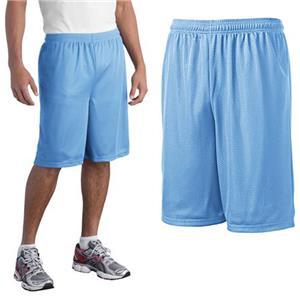 Sport-Tek Long PosiCharge Classic Mesh Shorts
