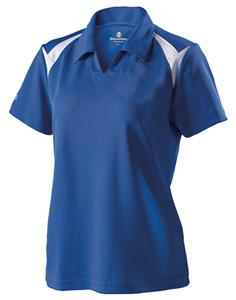 Holloway Ladies Laser Performance Pique Polo Shirt