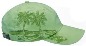 Adams Palm Trees Embroidered Caps
