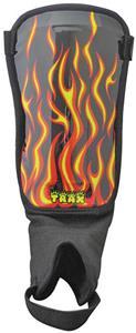 Diadora Trax Flames Soccer Shinguards