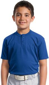 Sport-Tek Short Sleeve Henley Shirt