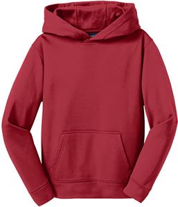 Sport-Tek Mens Sport-Wick Fleece Hooded Pullover