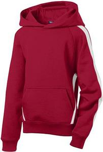 Sport-Tek Youth Sleeve Stripe Pullover Sweatshirt