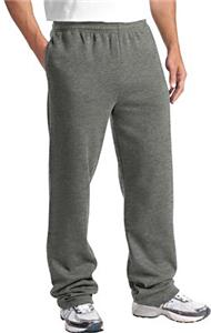 Sport-Tek Mens Open Bottom Sweatpants