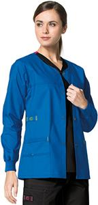 WonderWink Constance Snap Front Scrub Jacket