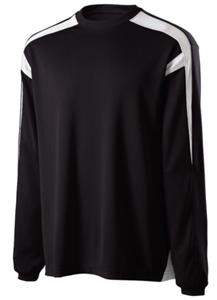 Holloway Jumpshot Twill Interlock LS Shirts
