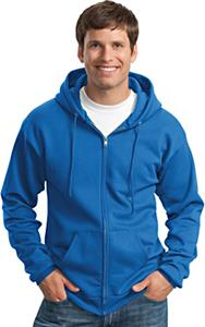 Port & Company Classic Full-Zip Hooded Sweatshirt